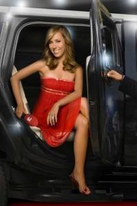 Germany´s Next Topmodel: Annemarie Warnkross berichtet live vom Finale. Foto: ProSieben.