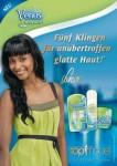 In der Gilette-Anzeige gibt sich Sara Nuru etwas braver. Foto: obs/Procter & Gamble Germany GmbH & Co Operations oHG