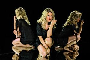 Jeanette Biedermann: Beste Chancen als Bad Boy. Foto: Universal Music.